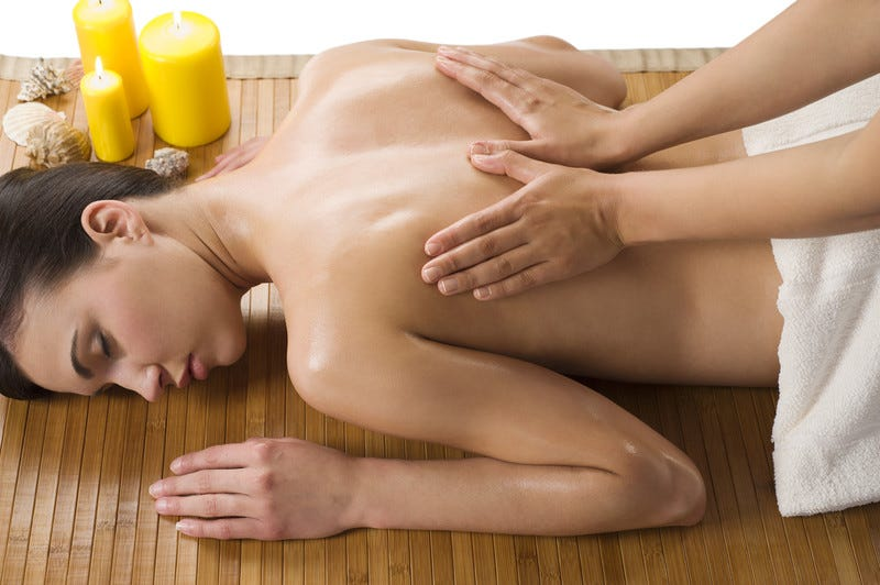 massage oil in practice