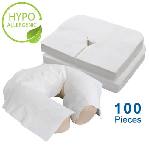 Flat Disposable FacePillow Covers