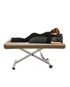 Pregnancy & Prone Cushion with Headrest in Medical Grade PVC