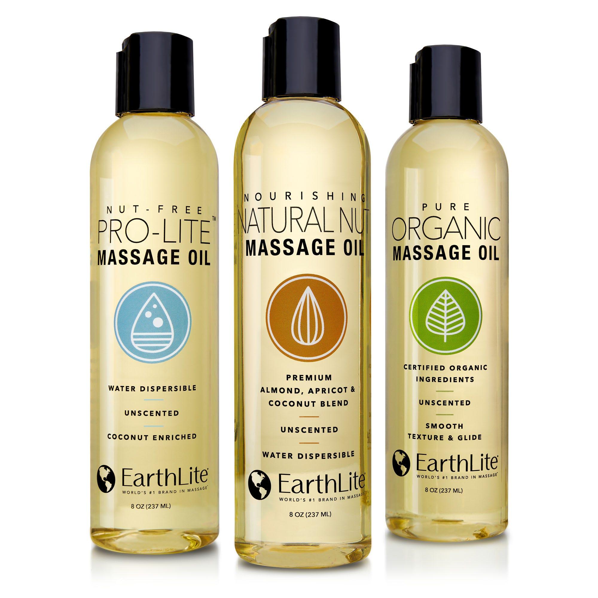 Earthlite Massage Oils
